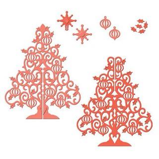 立體 3D 聖誕樹 DIY刀模 紙藝 卡片 切割模具 壓花 碳鋼 CUTTING DIES 快速出貨 桃園市