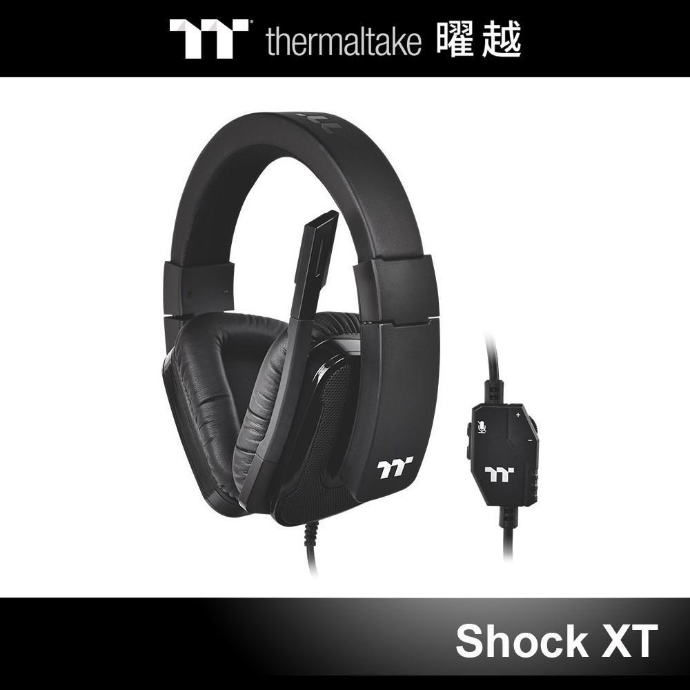曜越 震撼者 Shock XT 立體聲 電競耳機 麥克風 耳麥 GHT-SHX-ANECBK-35