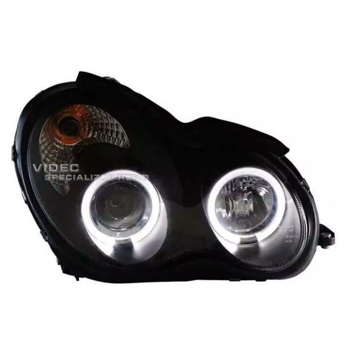 DIY商城 賓士 BENZ 00~07 W203 C230K C200K 黑框版光圈魚眼大燈 W203 大燈 總成