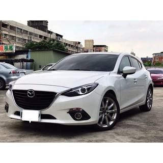 2015 Mazda3 5D 魂動馬三 頂級 換檔撥片 天窗 小尾翼 桃園市