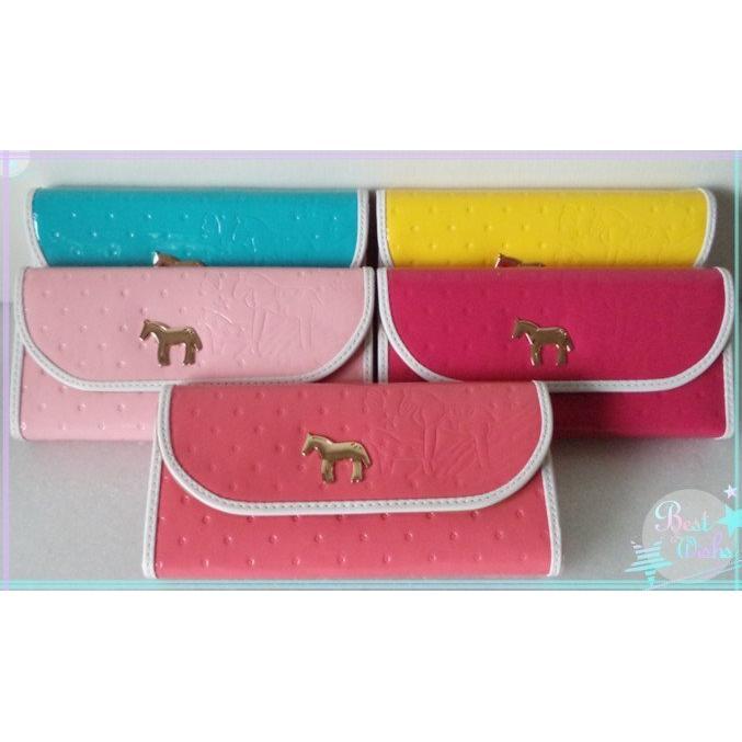 全新 韓版 女用長夾 橫款手拿包 零錢包 包包