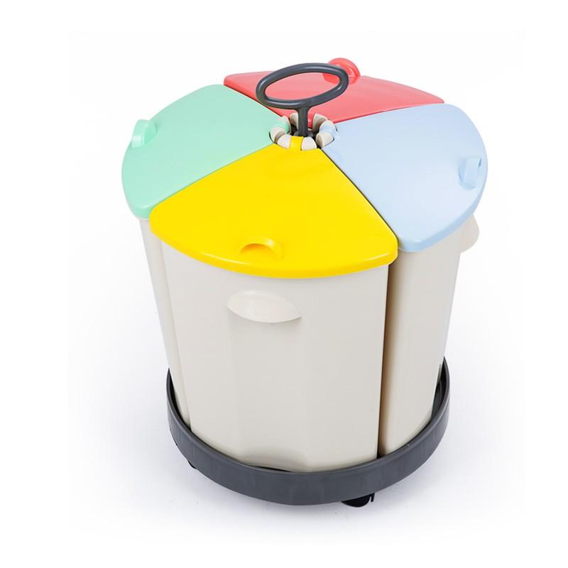 【OZOO 有物森林】四季紅 垃圾桶 垃圾分類桶 廚餘桶