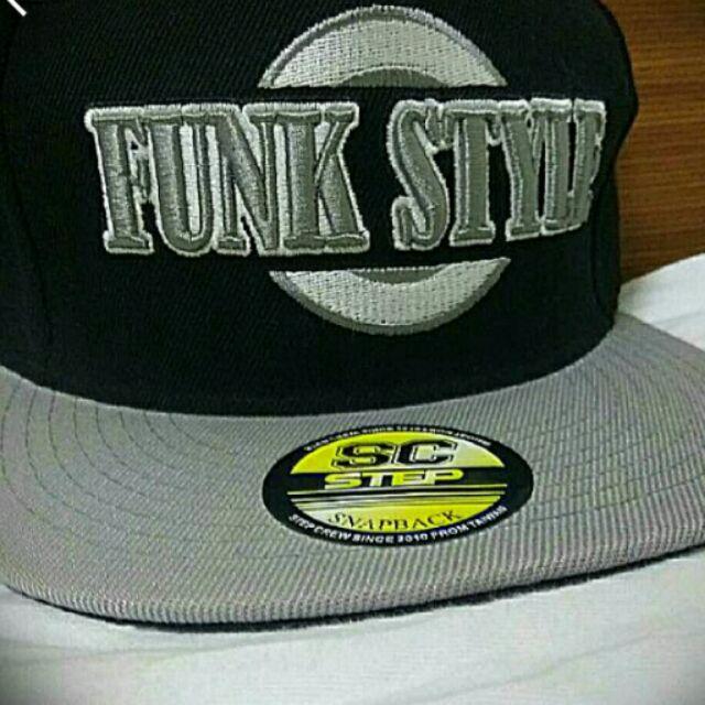 STEP CREW Funk 灰黑棒球帽
