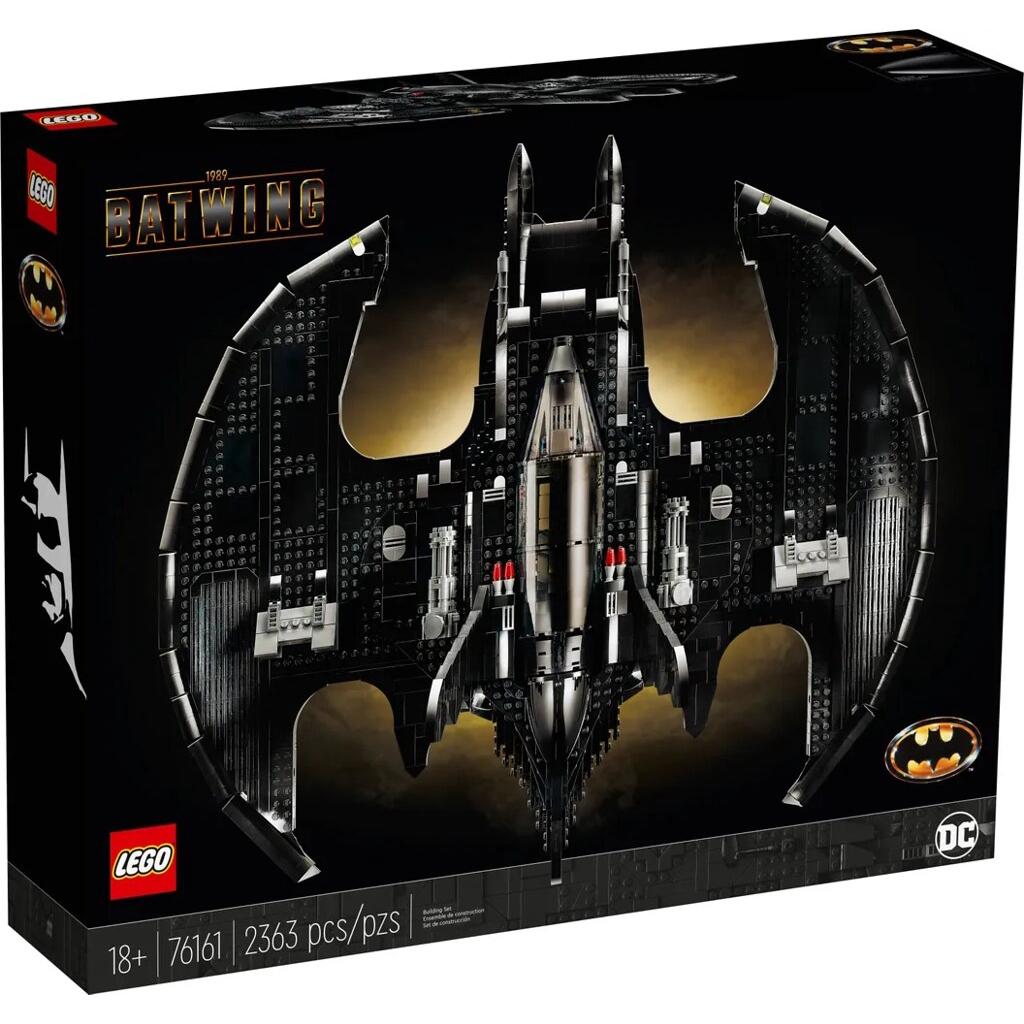 LEGO 76161 超級英雄系列 1989 蝙蝠戰機【必買站】樂高盒組