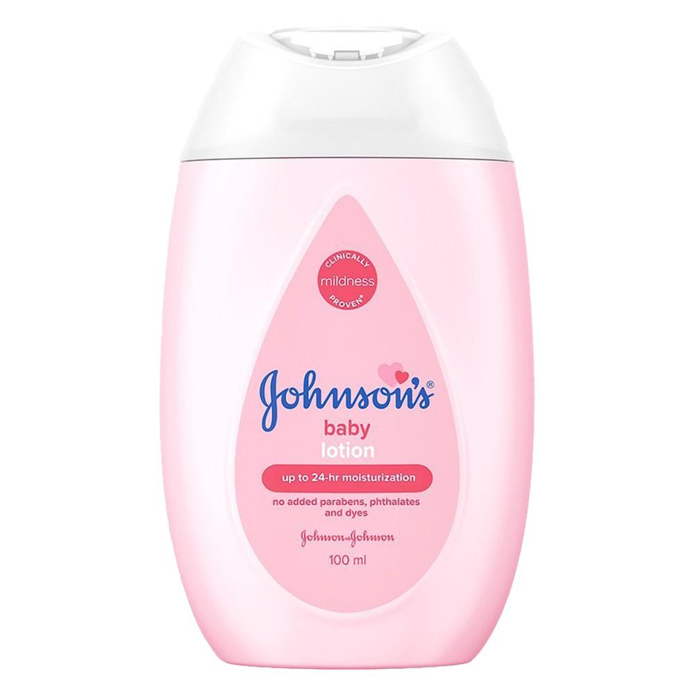 【Johnsons 嬌生】潤膚乳液-溫和潤膚(100ml)【兔雜tuzha】