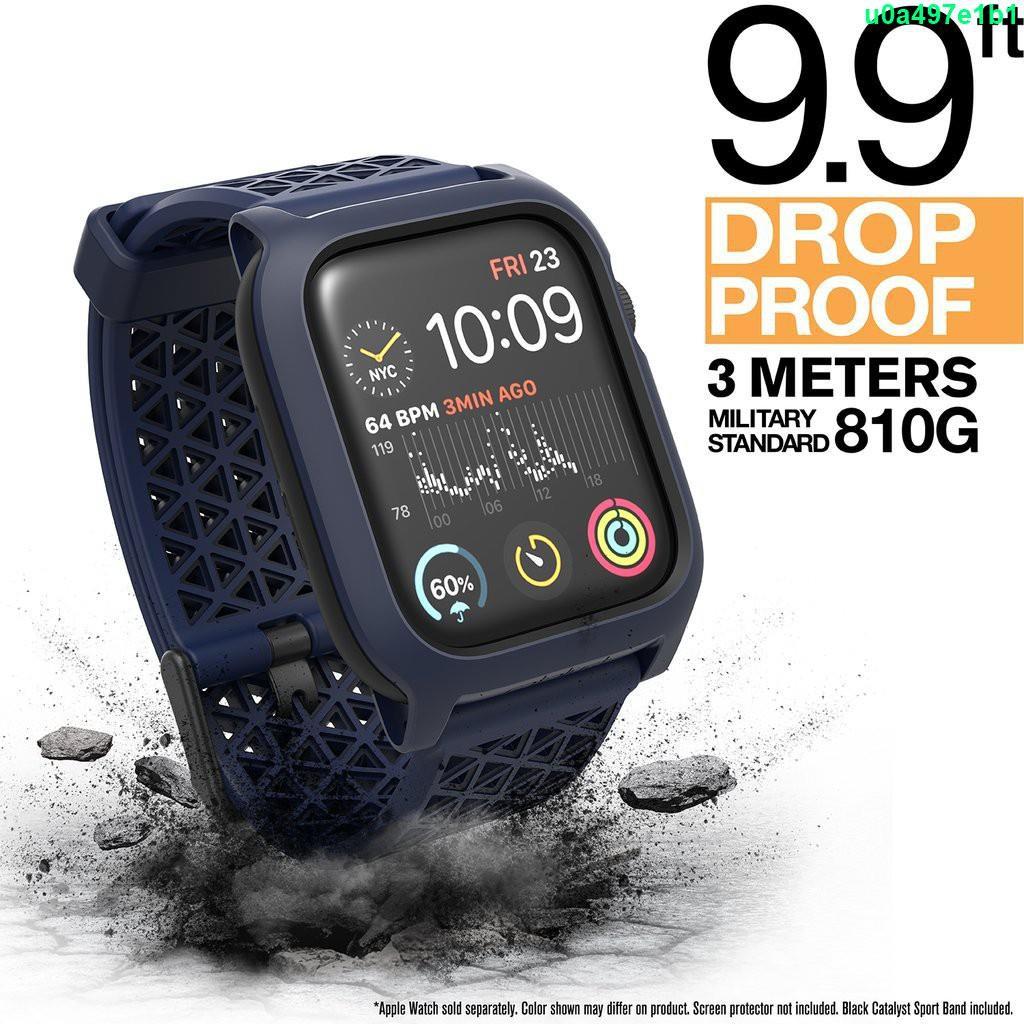【冰冰居家戶外館】Catalyst  Apple Watch SE/S6/S5/S4 40mm44mm 耐衝擊 防摔手錶