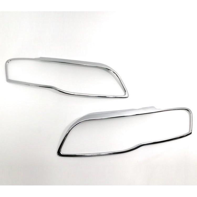 AUDI 奧迪 A4 B7 2005~2008 超質感 改裝 鍍鉻銀車燈框飾貼 前燈框 頭燈框 大燈框