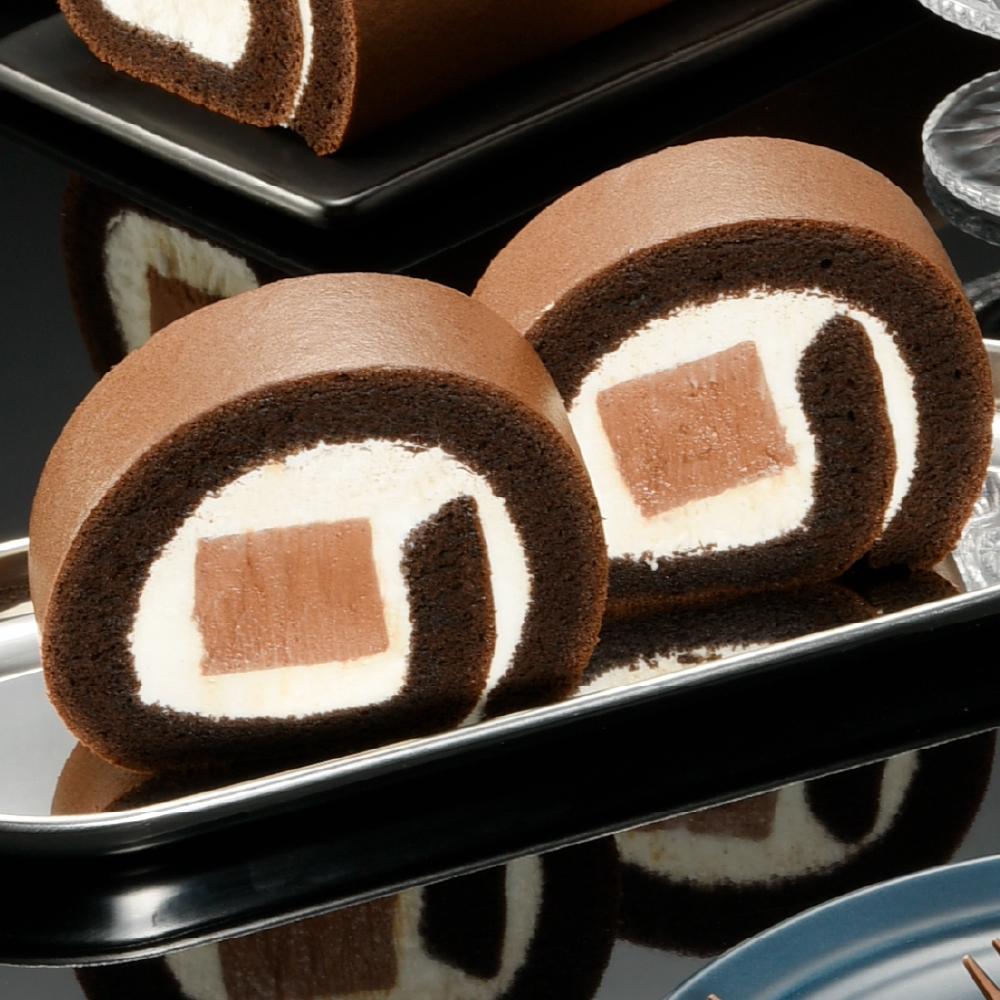 【亞尼克】巧克力雪糕生乳捲3條免運組(限週六到貨)