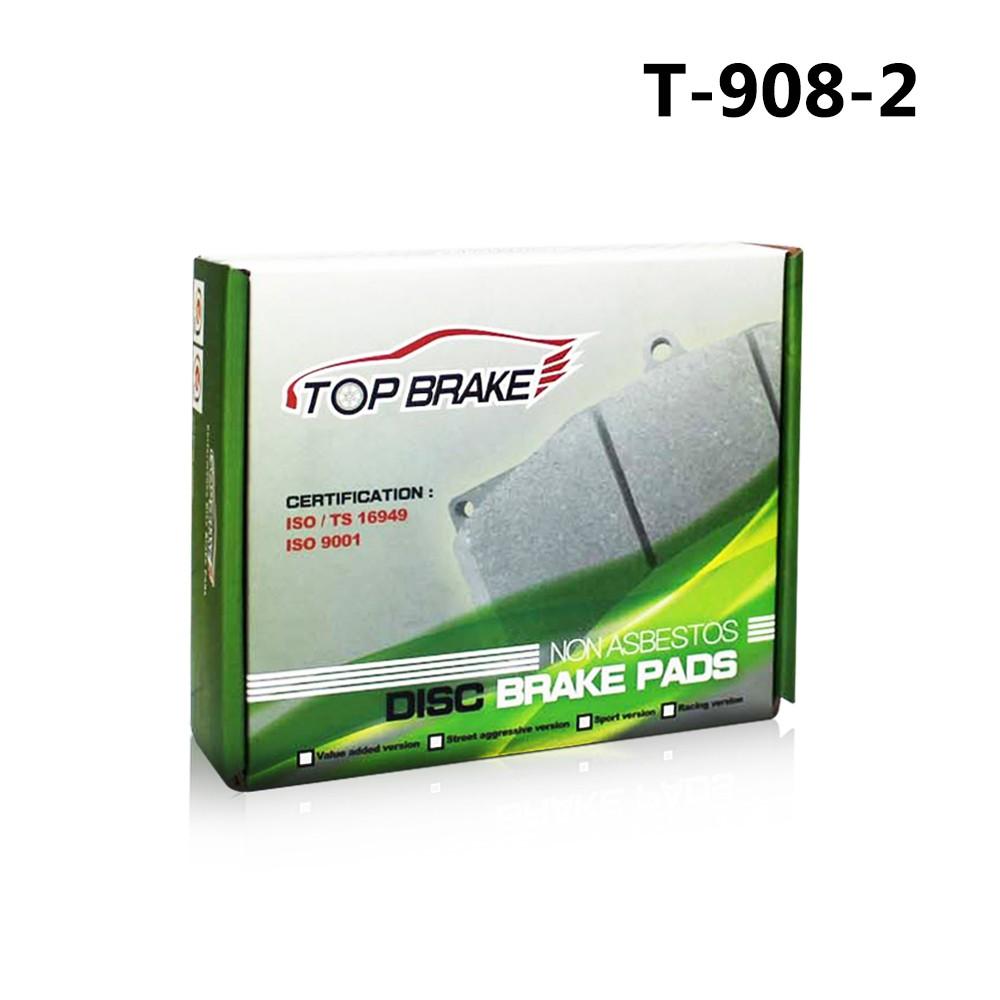 TOPBRAKE WILWOOD NDL 改裝卡鉗專用 汽車煞車來令片 T-908-2