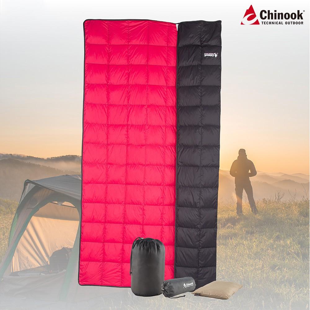 【Chinook】輕巧易攜帶頂級四季萬用毯|品牌旗艦館|送枕頭