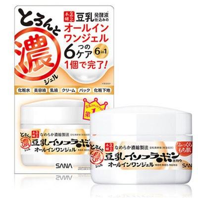 SANA 莎娜 豆乳美肌多效保濕凝膠霜 100g 日本熱門商品