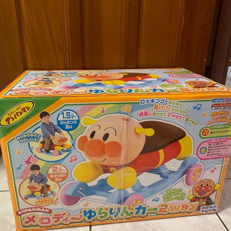 日本🇯🇵正版 SEGATOYS 麵包超人兩用車-遙遙馬-滑步車