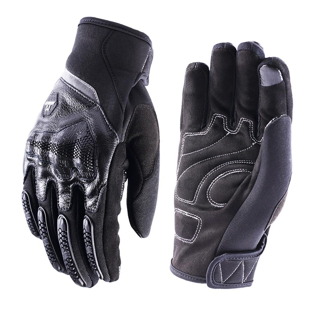 ◘❁Masontex亞馬遜熱賣摩托車手套全指賽車硬殼觸屏手套戶外騎行手套