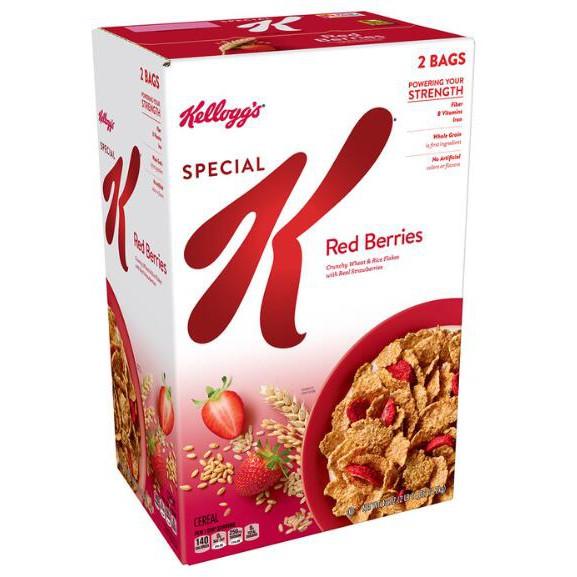W1282434 家樂氏 Special K 草莓早餐脆片 1.2公斤