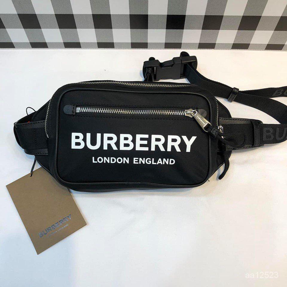 二手正品 Burberry 19FW 90年代英國復古街頭風腰包
