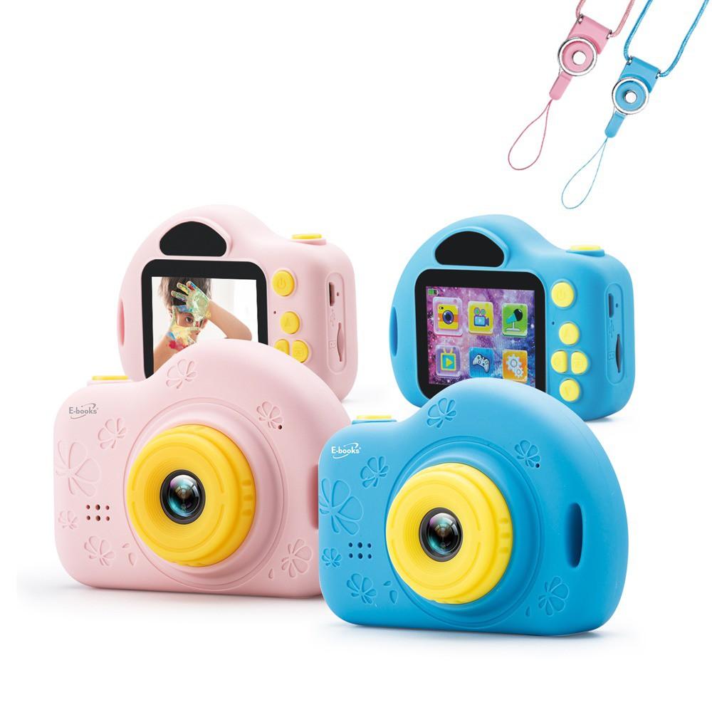 E-books P1 兒童數位相機 贈16G記憶卡 兒童專用數位相機 公司貨