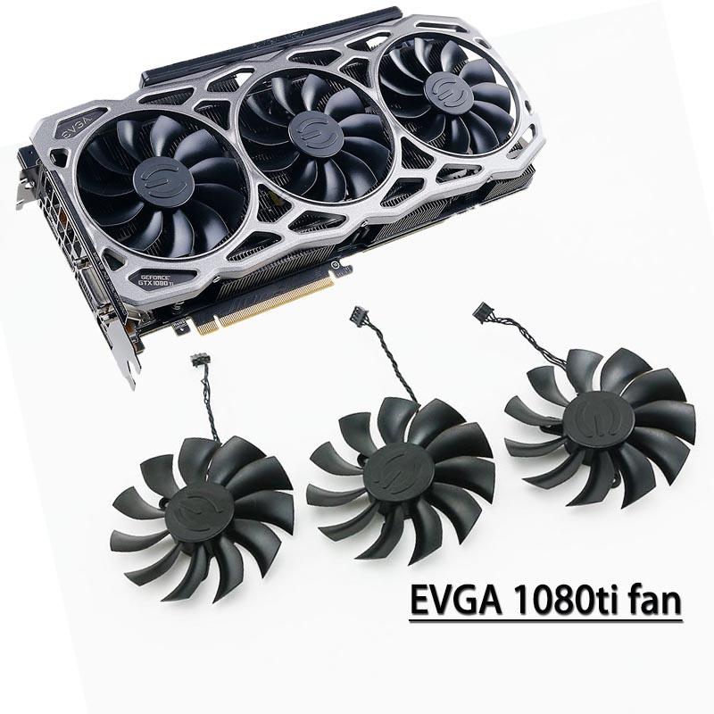 原裝EVGA GTX 1080TI FTW3 DT GAMING 顯卡散熱風扇 PLA09215B12H