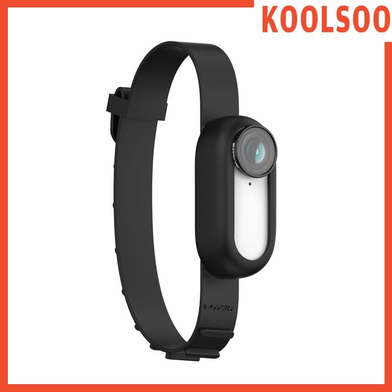 [KOOLSOO] 可調節矽膠相機保護腕帶擴展為Insta360 Go2