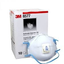 [ MAMA ] 3M 8577 活性碳口罩 P95 3M口罩 10個/盒