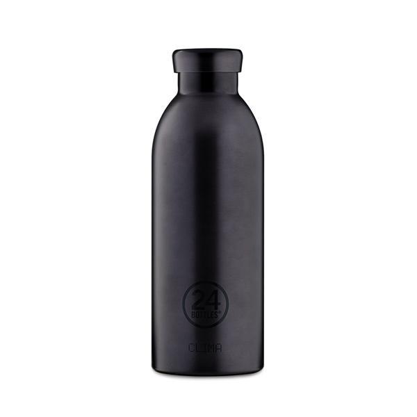 24Bottles不鏽鋼雙層保溫瓶/ 500ml/ 黑碧璽 eslite誠品