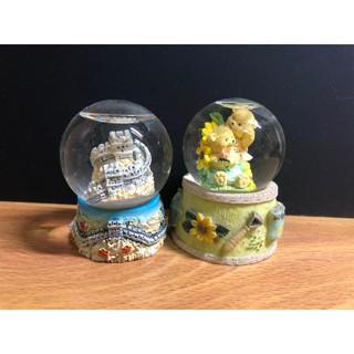 《二手》小型玻璃雪花球 新北市