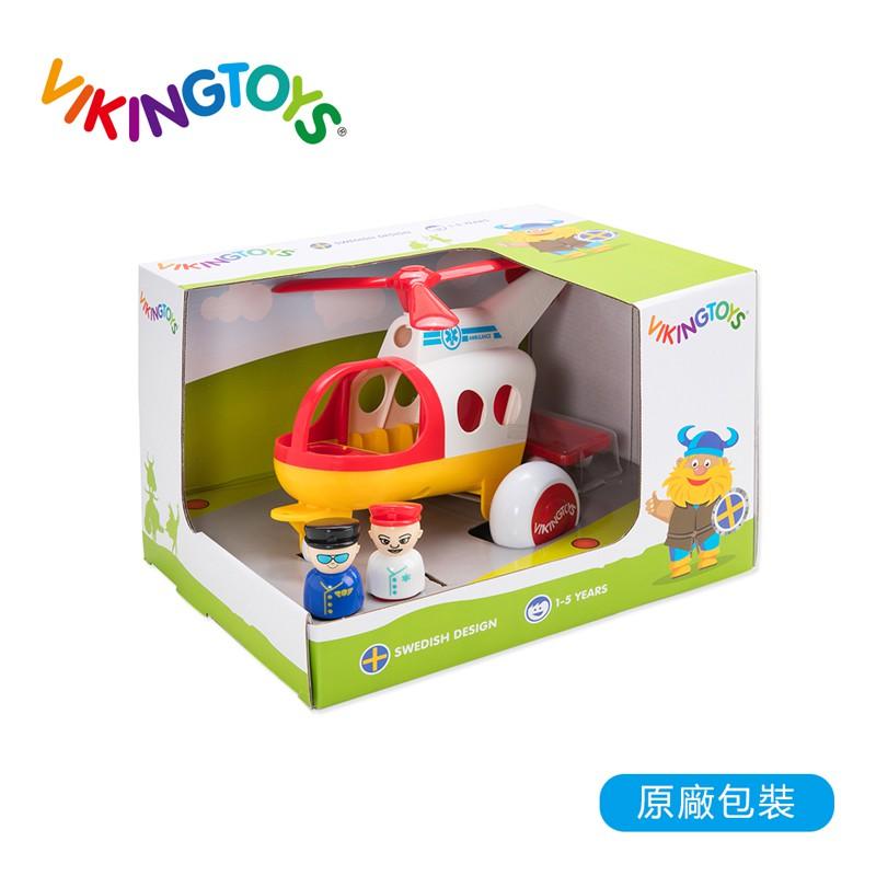 【瑞典 Viking toys】Jumbo救援直升機-30cm 81272