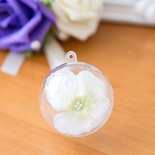 透明球透明塑膠球 壓克力球透明球殼塑膠球殼扭蛋殼 小物 乾燥花 娃娃機 手作 4cm/ 5cm/ 6cm/ 8cm/ 10cm