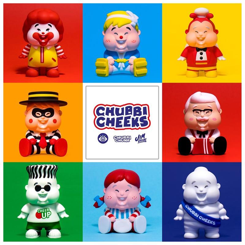 Unbox Chubbi Cheeks family 小胖子盒玩 盲盒 肯德基麥當勞 米其林 神偷 七喜 快樂蜂 確認款