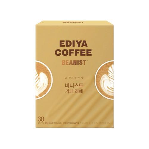 [EDIYA] Beanist 咖啡拿鐵 (30入)(韓國直送)