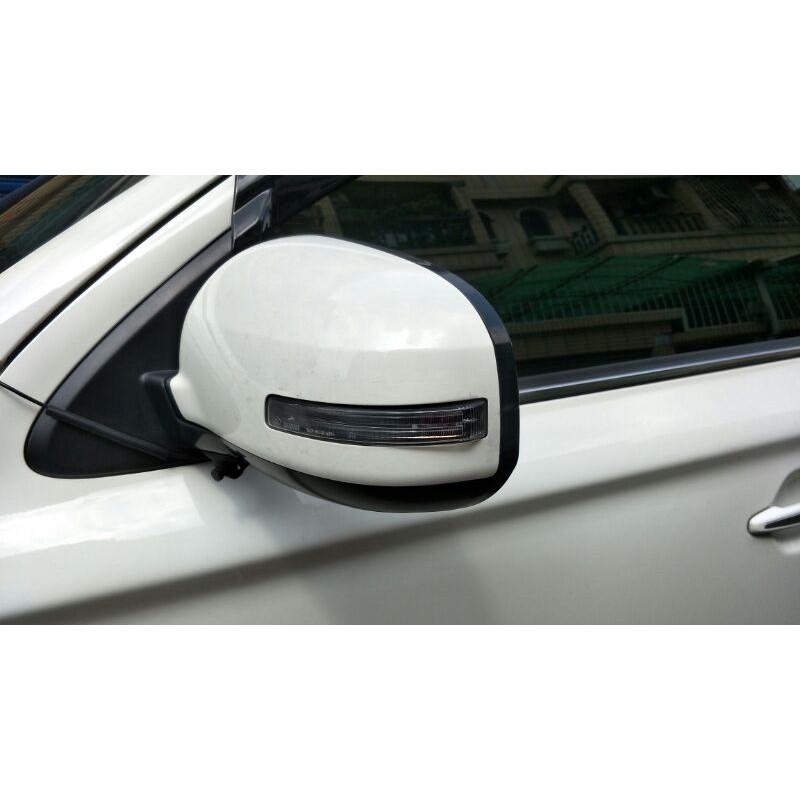 三菱 Mitsubishi  OUTLANDER 2018 原廠後視鏡 左邊 白色
