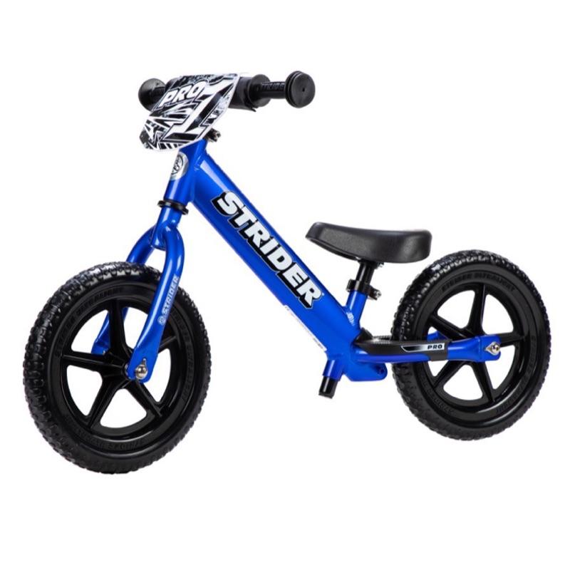 2020 新款美國STRIDER Pro 滑步車-閃電藍