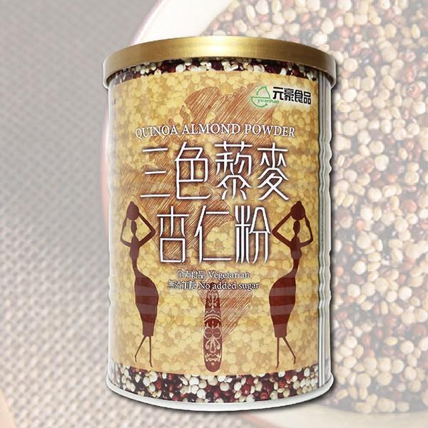 即期品 元豪 三色藜麥杏仁粉 400g/罐 (效期至2019.07.22) 售完為止