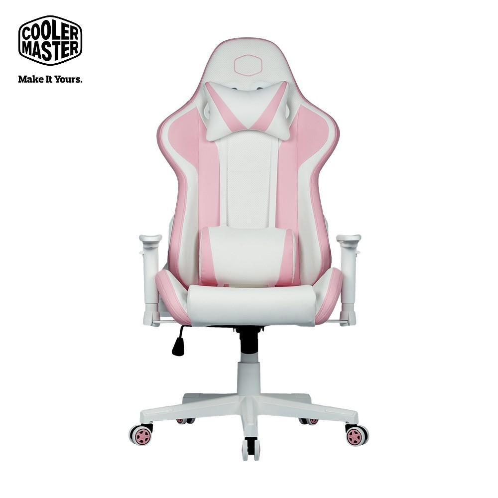 Cooler Master 酷碼 Caliber R1S Rose 電競椅 玫瑰白
