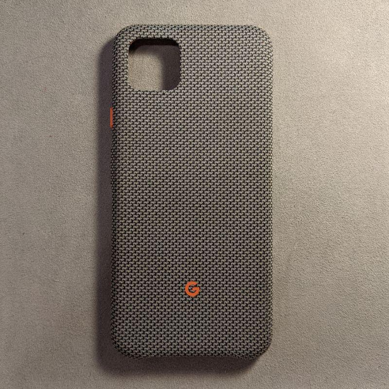 Google Pixel 4XL 保護套 | Pixel 4XL原廠手機殼 | 有點灰 | 二手無污痕無傷