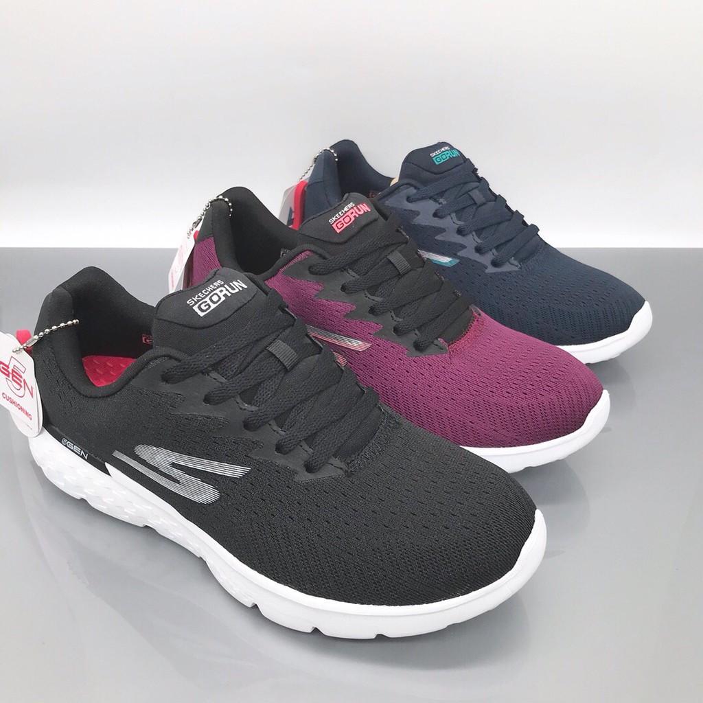 Skechers斯凱奇2020新款女鞋網面透氣跑步鞋時尚輕便休閒運動鞋14804
