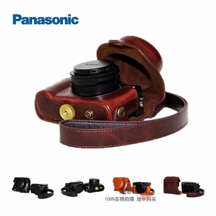 松下LX100M2微單相機包 LX100皮套 LX100II保護套 攝影包 單肩包