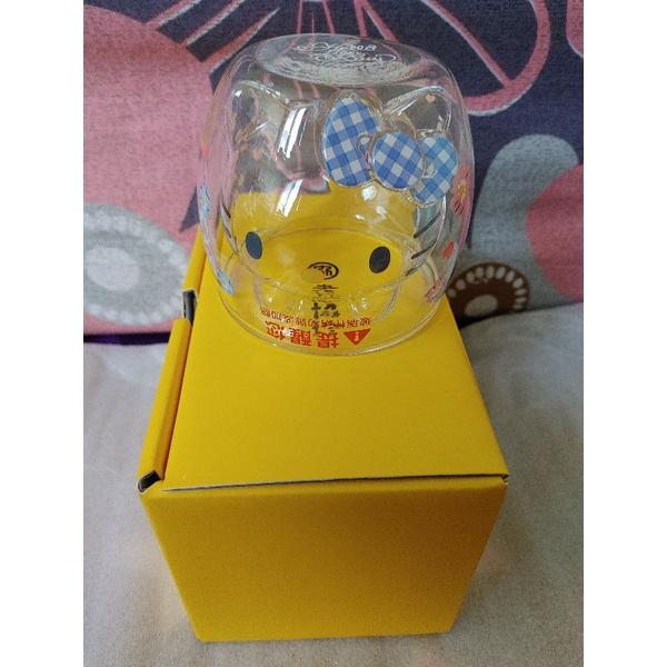 <<單售>>老協珍熬雞精 hello kitty 超萌杯-彩花款 玻璃杯