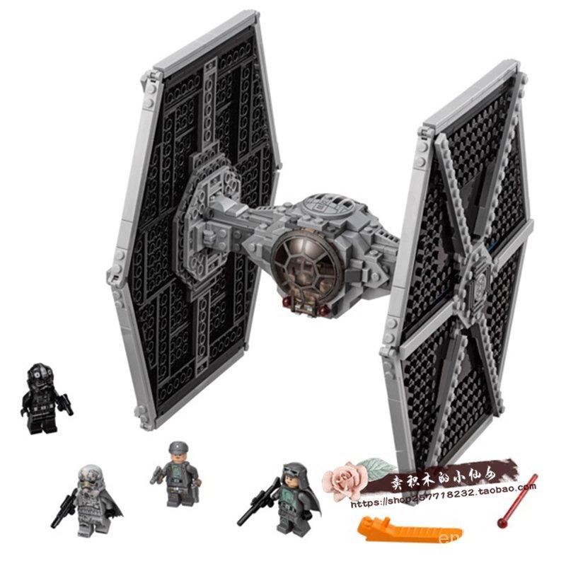 爆款LEGO樂高75211星球大戰 帝國鈦戰機 風暴騎兵帝國飛行員 飛船戰艦