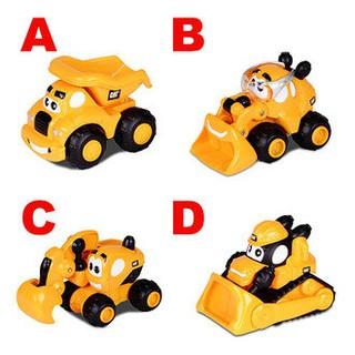 竹北kiwi玩具屋_CAT 3吋混裝造型工程車(4款可選) 砂石車/ 挖土機/ 推土機/ 小山貓_02200903 新竹縣