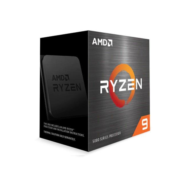 AMD Ryzen 9 5900X/5950X R9-5900X/R9-5950X AM4 桌上處理器 無風扇 廠商直送