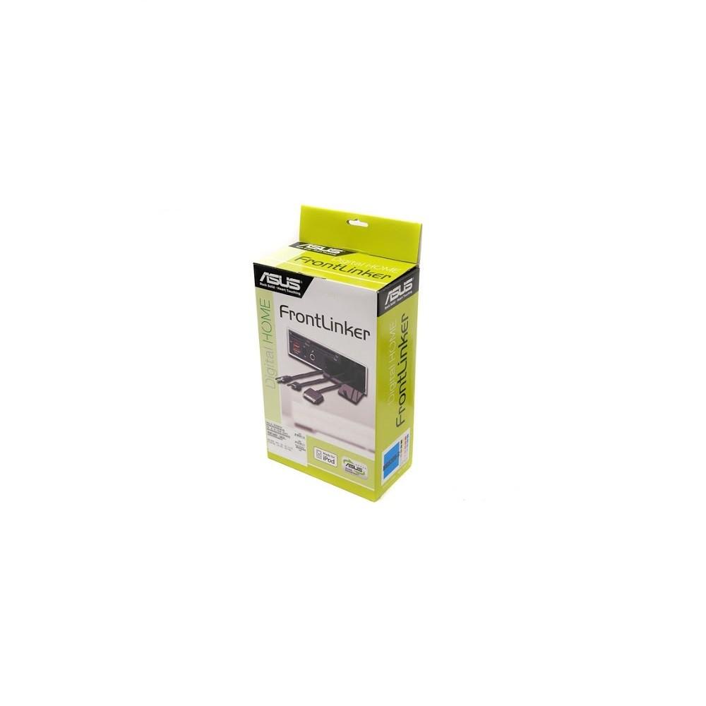 華碩 FrontLinker 多功能讀卡機 黑色 內接式 5.25吋 支援 iPOD DOCK/MS 1394介面