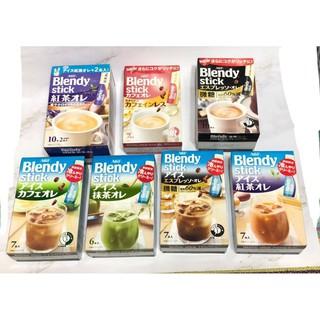 AGF Blendy stick 咖啡 10入( 紅茶歐蕾/ 無糖/ 微糖/ 可可)  夏季口味(抹茶/ 紅茶歐蕾/ 微糖/ 拿鐵) 台北市