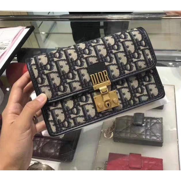 專櫃正品Dior POCHETTE DIORADDICT Dior 手拿包/肩背包/鏈帶包 WOC全新現貨