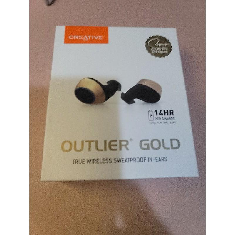 Creative Outlier Gold 真無線藍牙耳機 台灣公司貨