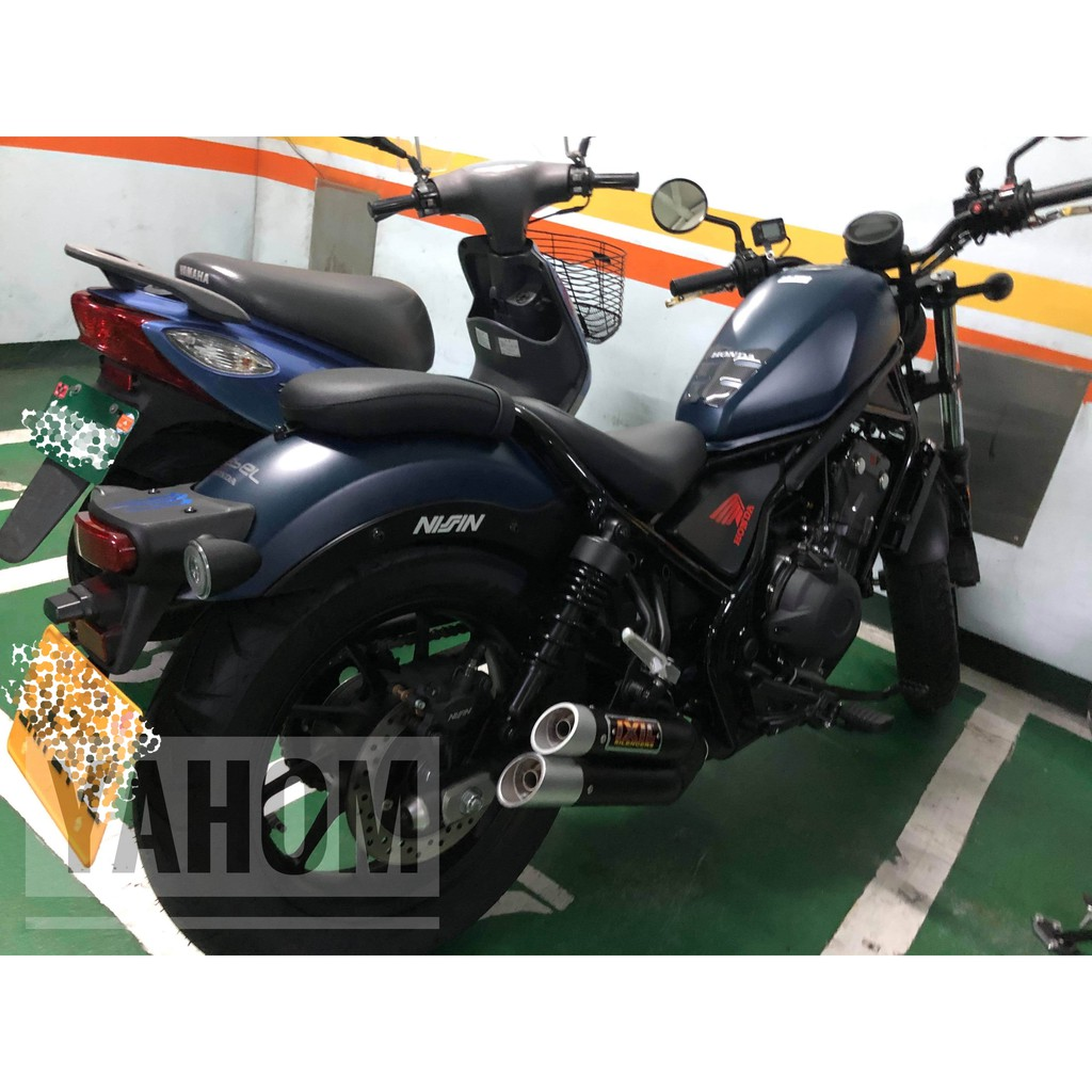 Honda Rebel 500 進口改裝排氣管 IXRACE 進口排氣管/蠍子管/吉村/英國蠍/尾段/SC/MIVV