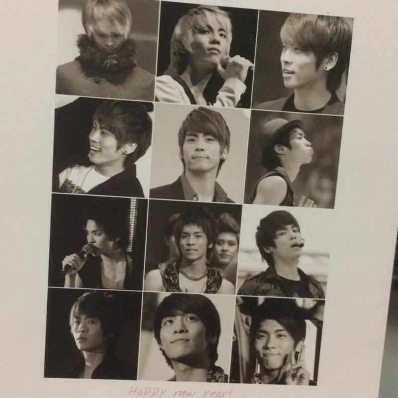 鐘鉉 韓站 The Bling 2011 寫真台曆 2009-2010照片