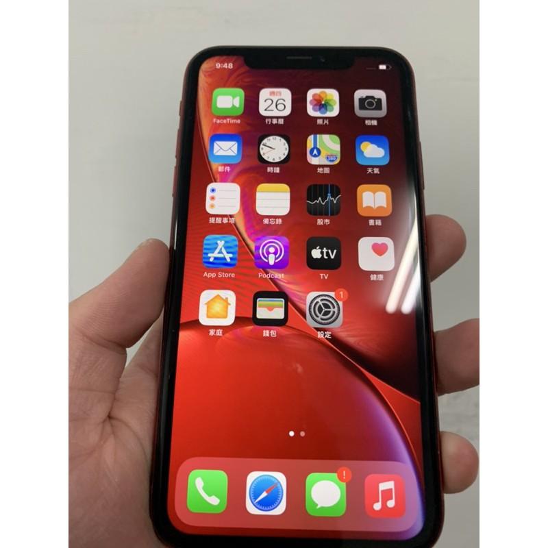 XR 128g 紅色 iphone Apple 蘋果 台南 二手 iOS 非64g