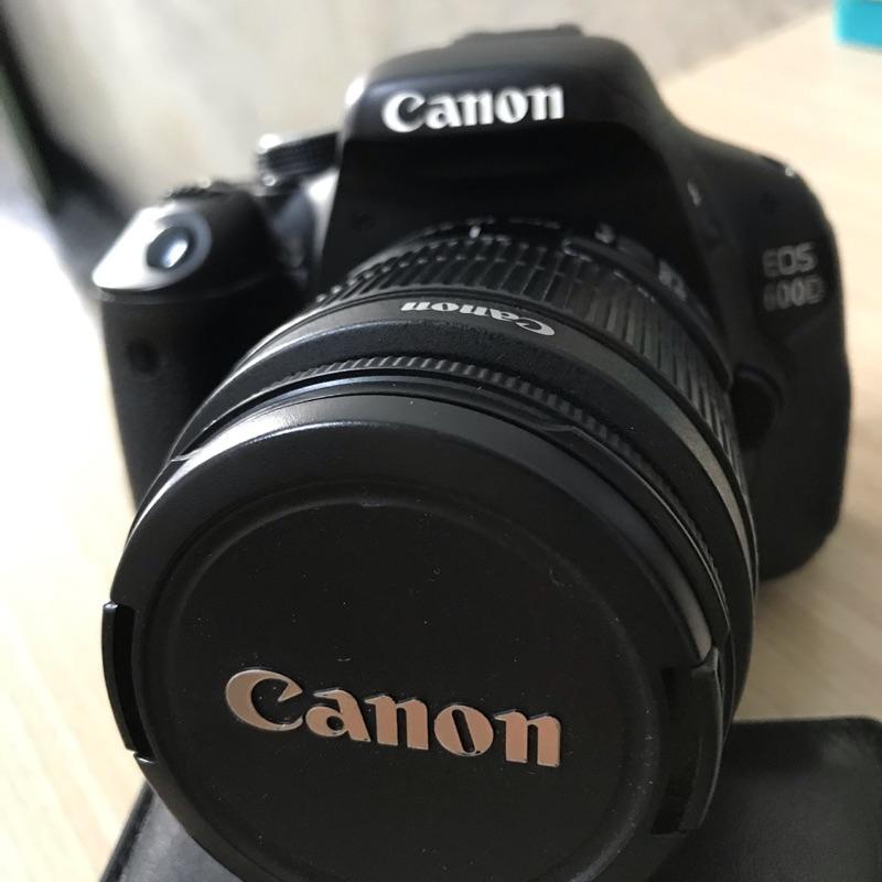 二手 Canon 600D單眼相機