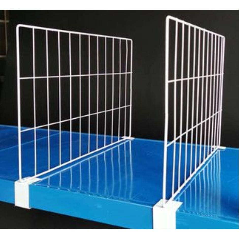 #貨架分隔板 #分隔網片 貨架分隔板片擋板服裝隔離板倉庫定制隔板片分類鐵隔板分隔網片