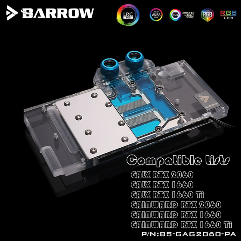 適用於GALAX GAINWARD Geforce RTX2060 / GTX1660 Ti LRC2.0 RGB的Ba